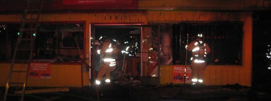 Fire at Taqueria La Mexicana Restaurant ruled arson