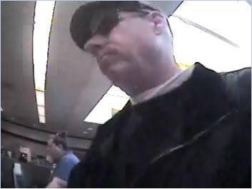 Wells fargo bank robber 2 April 2013