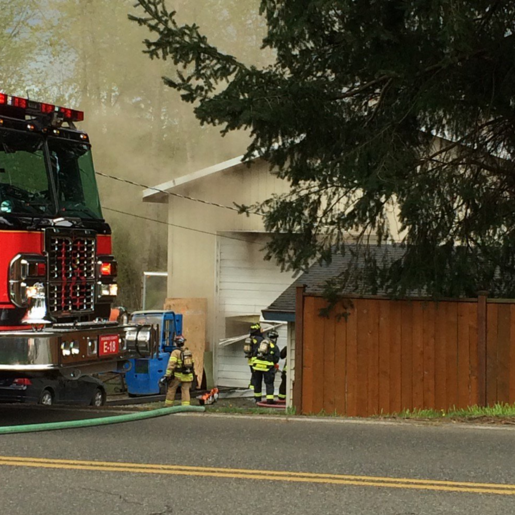 Fire In Detached Garage Near Lynnwood Causes $200,000 In