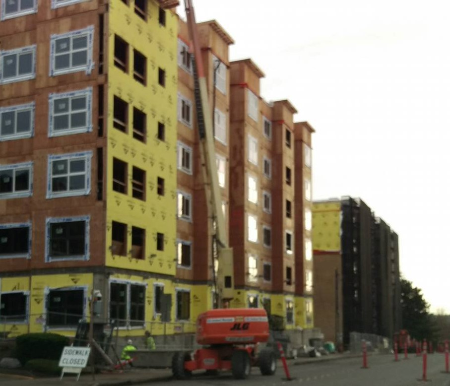 The Apartments At Citycenter: Scene In Lynnwood: Construction Continues In City Center