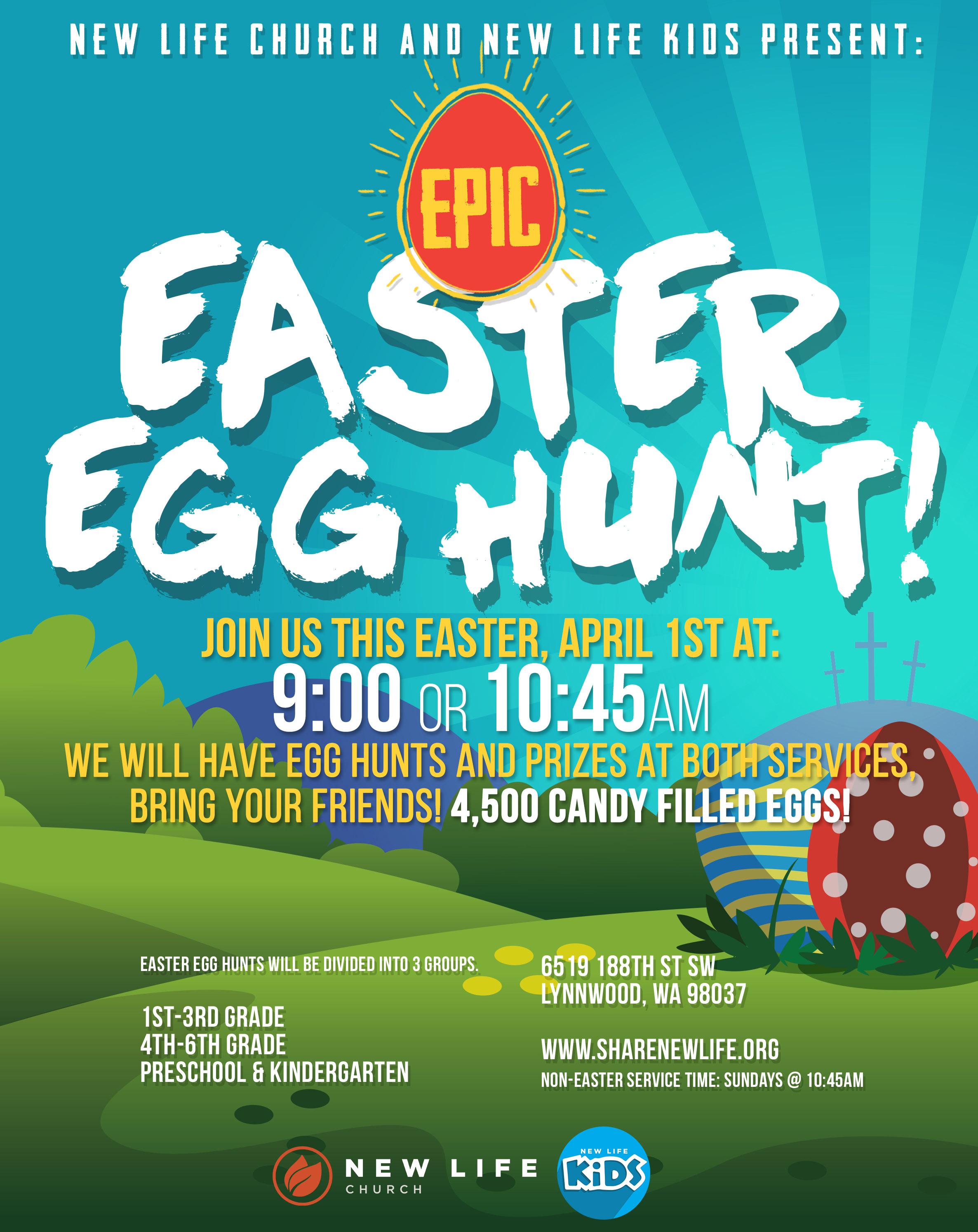 Epic Easter Egg Hunt - Lynnwood Today