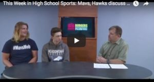 Meadowdale Football on sports show Sept 2018