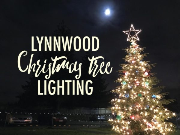 Reminder: Lynnwood Christmas tree lighting set for Dec  1 - Lynnwood