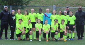 FC Edmonds Quiet Riot (girls 2005). Photo courtesy Josh Cardin