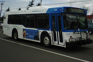 Community Transit bus