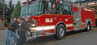 Fire Station 18 Gets a New Engine