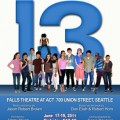 Young Actors in Local Production of 13 The Musical