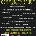 """""""Community Spirit"""" Event to Feature Live Music, Games and More"""