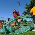 Volunteers Install New Cedar Way Elementary Playground
