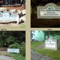 City Updates Entrance, Parks, and Facility Signs