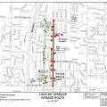 Tour de Terrace: Parade Road Closures Begin Friday at 5pm
