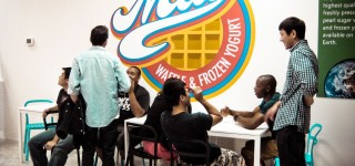 Melt Waffle & Frozen Yogurt Grand Opening Saturday
