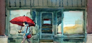 James McFarlane watercolor exhibit opens at library May 1