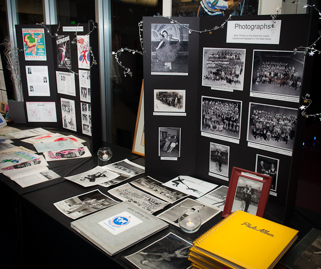75 years of memorabilia on display.