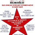 Consignment and bake sale next weekend to benefit wounded service members