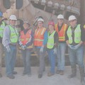 MLT Rep. Moscoso tours Sound Transit tunnel boring machine