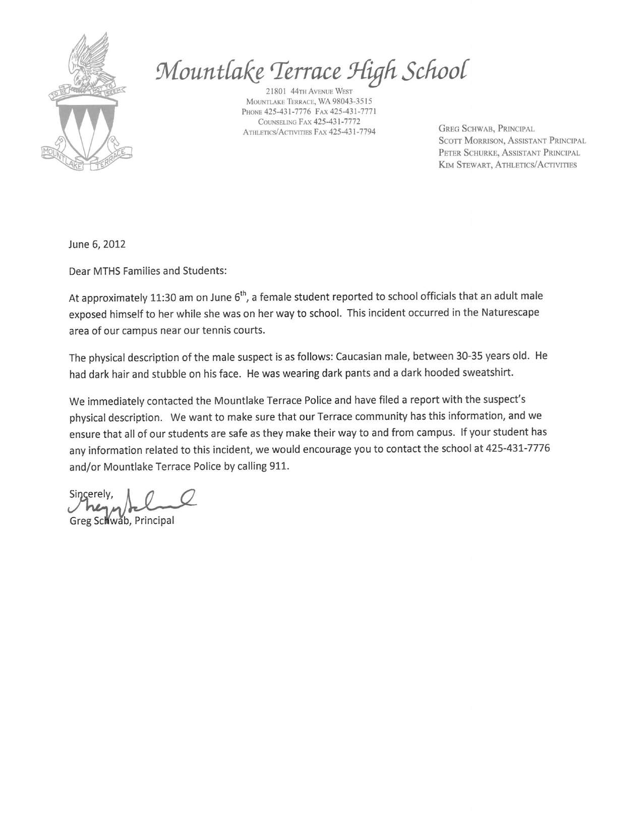 Letter To School Principal From Parent For Leave