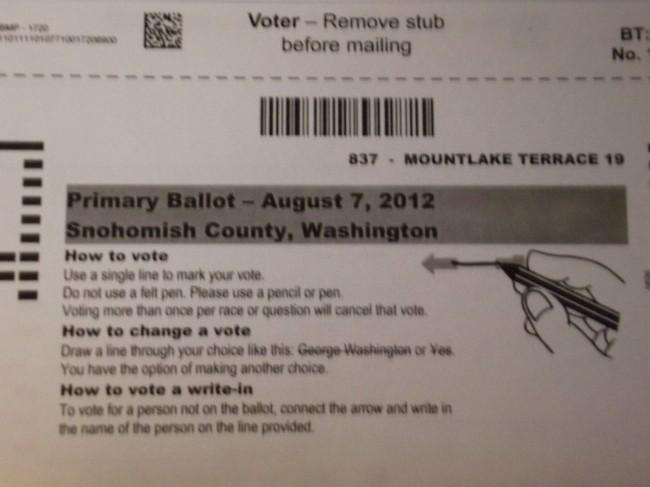 Primary election ballot 003
