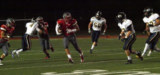 Hawks dominate Everett 48-0 in Friday night football romp