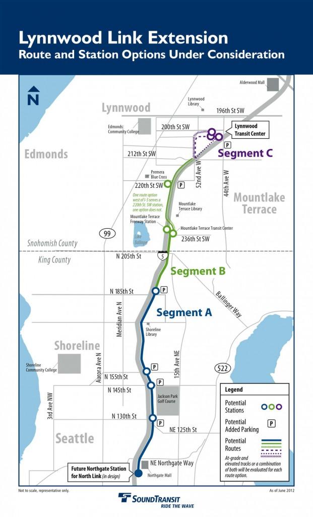 Sound Transit Updates Mlt Council On Light Rail Corridor
