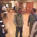 Residents gather to hear plans for the Lakeview Trail