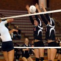 Hawks lose second straight volleyball match, this time to Mavericks