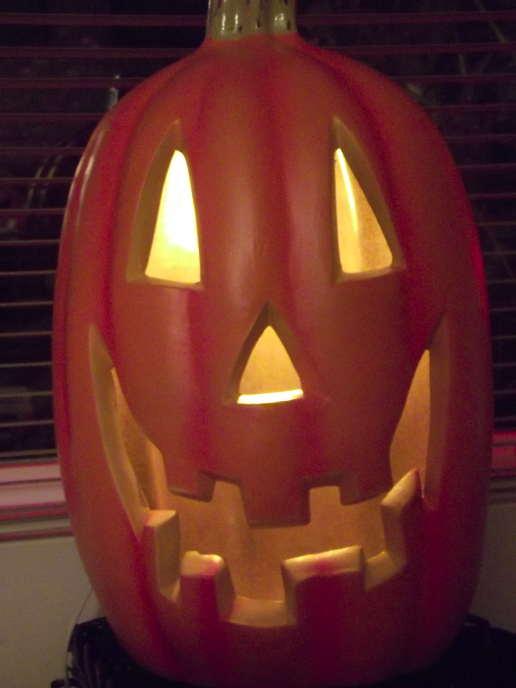 carved pumpkin photo