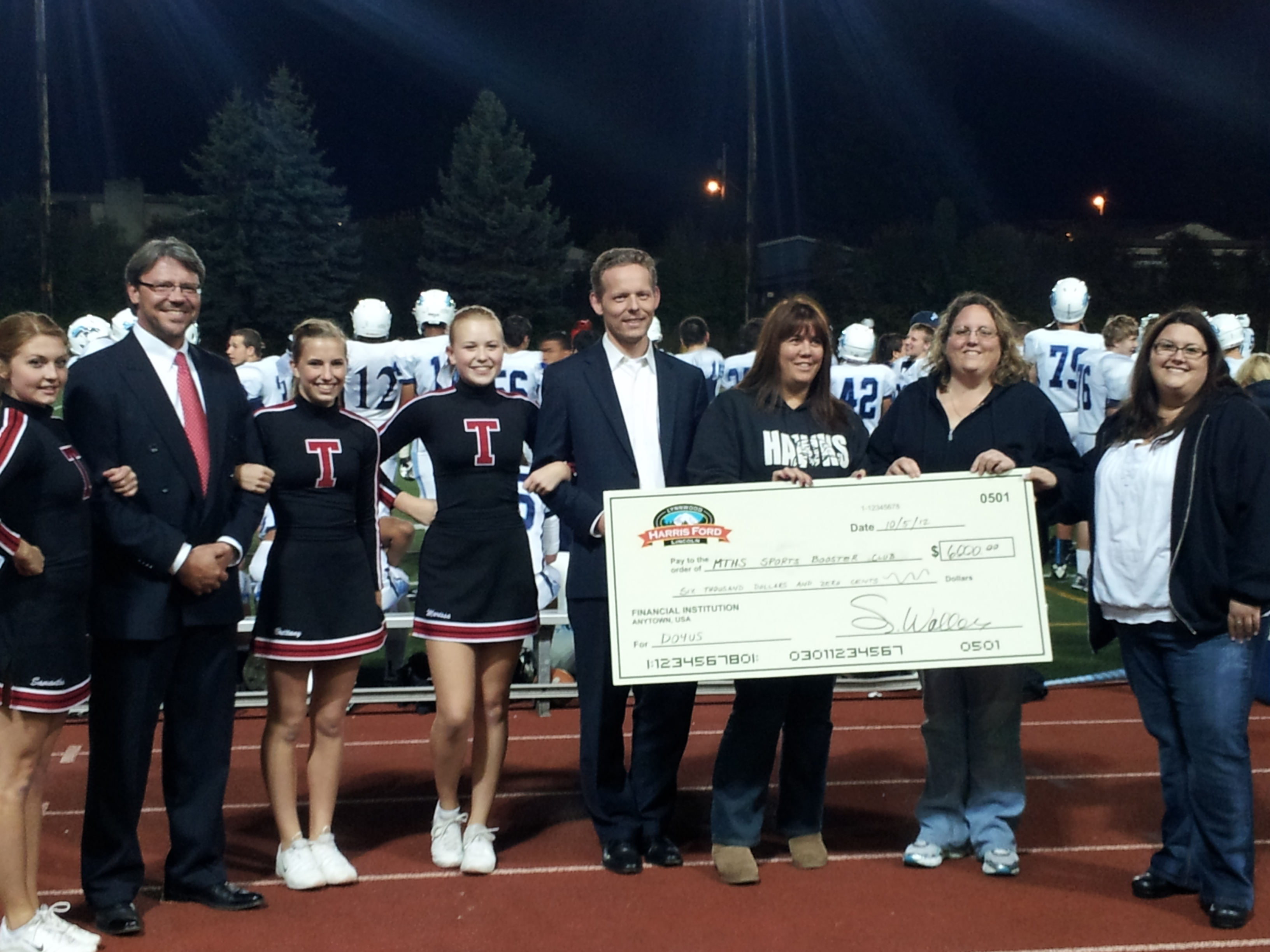Attractive Harris Ford MLT High Check Presentation