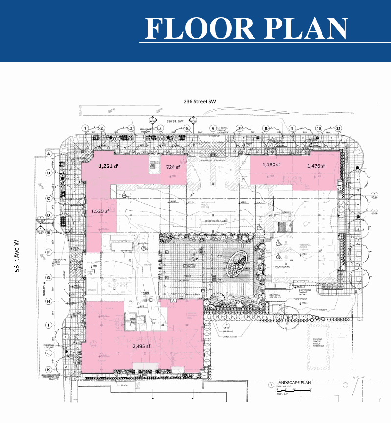 Arbor Village Apartments: Arbor Village First Floor Floorplan