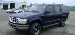 Stolen Ford Explorer