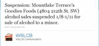 Goodies Alcohol sales suspended for sale to minor