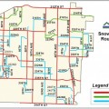 City Snow Removal Routes