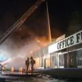 MLT Firefighters Assist in Shoreline Fire