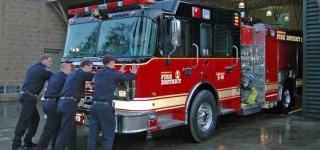 Fire Station 19 gets a new engine