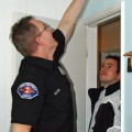 Firefighters install 110 free smoke alarms