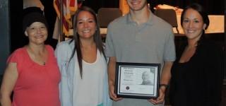 Michael Lotz awarded Mike Watson Memorial Scholarship; Reid receives Golden Acorn