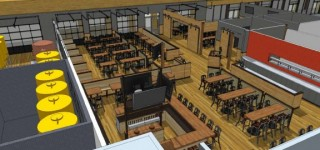 Diamond Knot Brewpub releases initial drawings for new MLT location