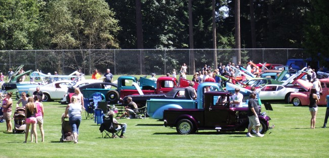 The Tour de Terrace car, truck and motorcycle show