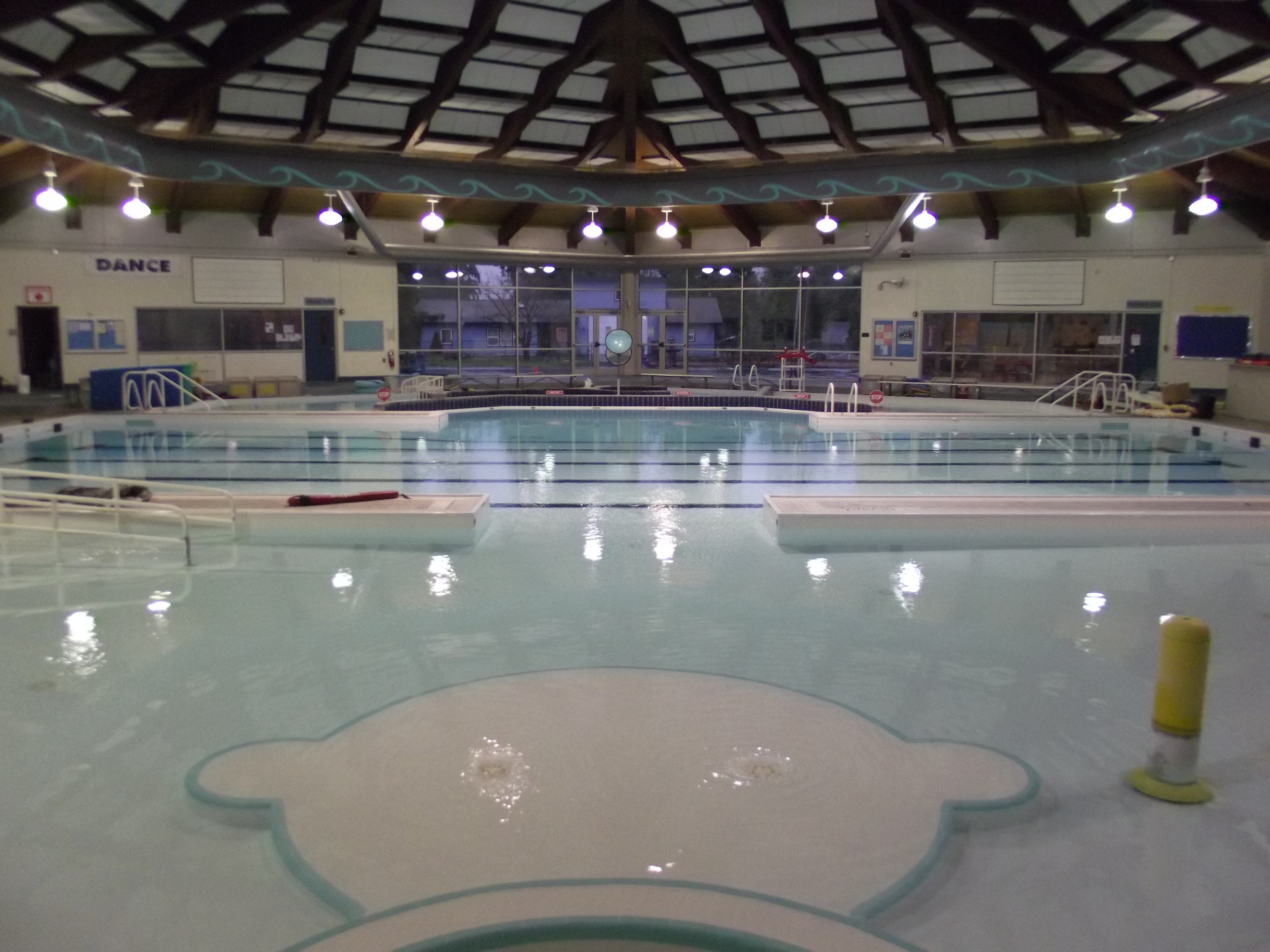 Mlt recreation pavilion awaiting repairs to hvac unit that for Terrace pool