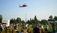 Brier National Night Out a go despite a Coast Guard helicopter no-show
