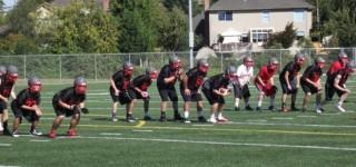Hawks spread wings in preparation for 2013 football season
