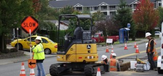 Work crews make progress on gas main extension project in MLT