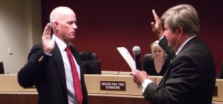 Hugill sworn in as MLT Interim City Manager