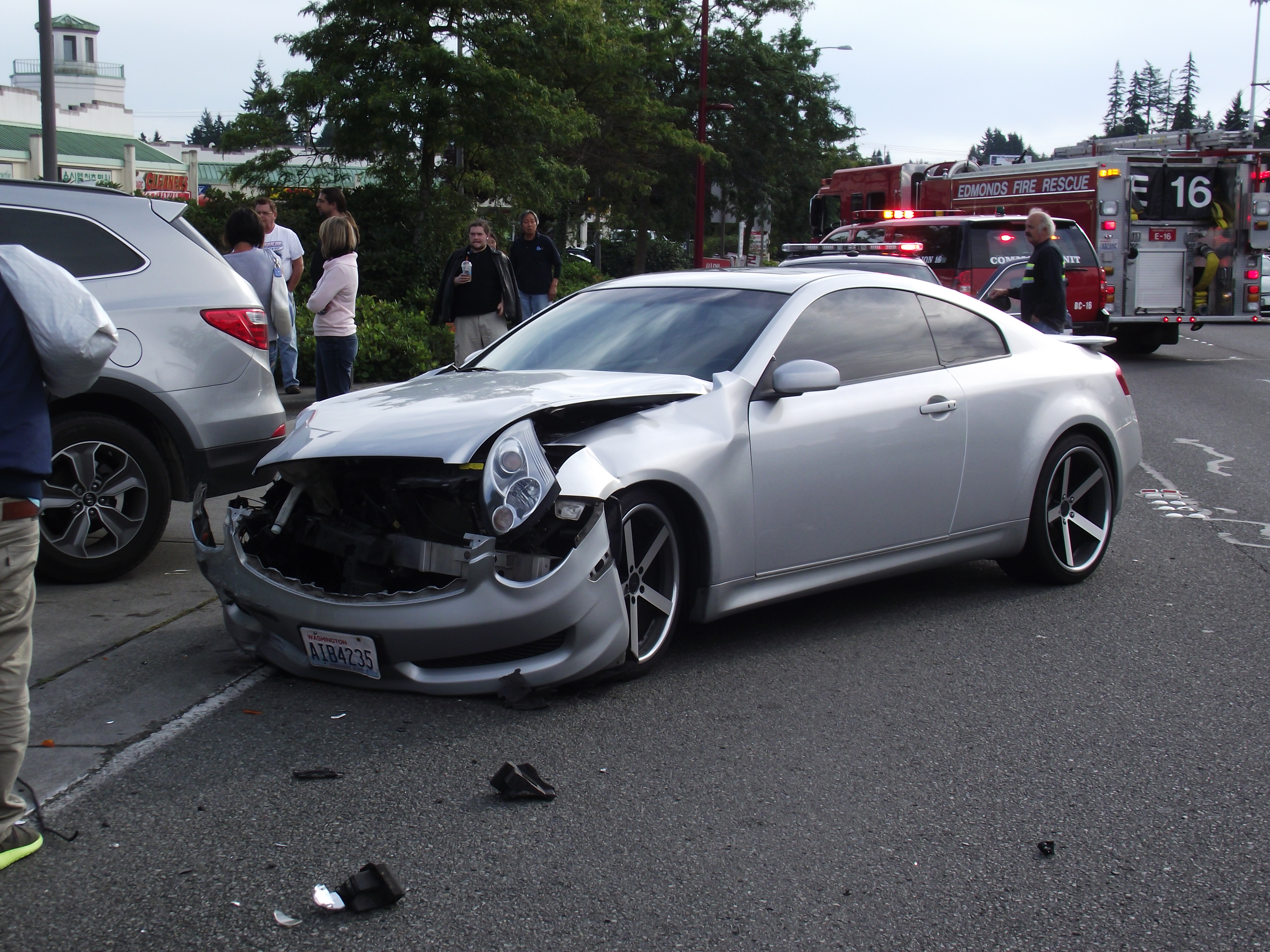 Car Accident On Hwy  Today