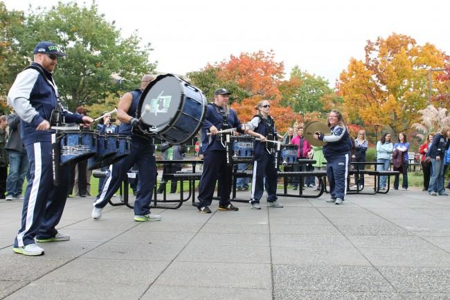 The Seahawks' Blue Thunder Band. (Photos courtesy of Premera)