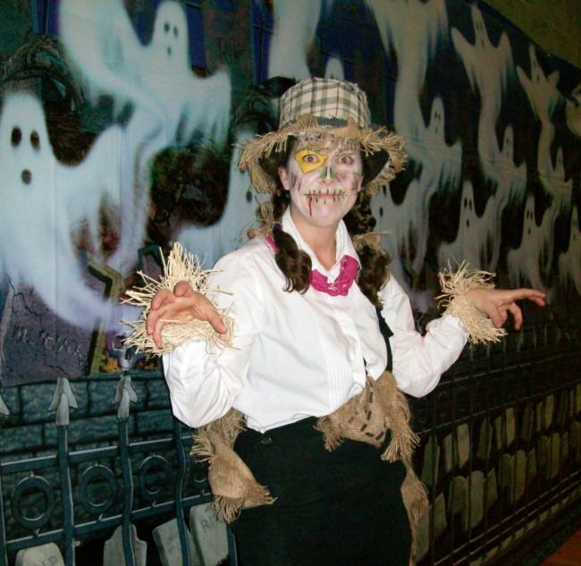 City of Mountlake Terrace Dance Programmer Chloe Davenport at the 2012 Costume Carnival.