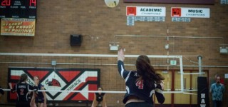 Hawks score 3-0 volleyball victory over Grizzlies; play for state berth Thursday