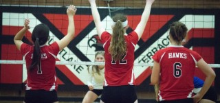 Ferndale upends Hawks in volleyball playoffs; two wins needed Saturday for state berth