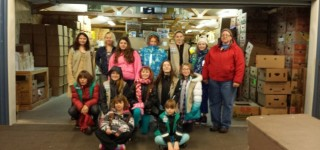 Girl Scouts collect donations for MLT food bank