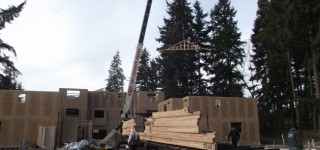 Townhomes development taking shape on 54th Avenue West